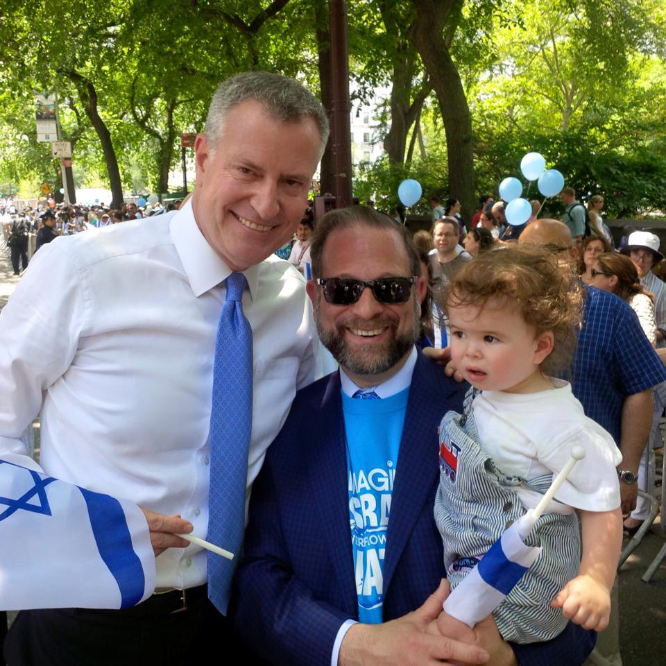 Mayor Bill De Blasio Israeli Day Parade