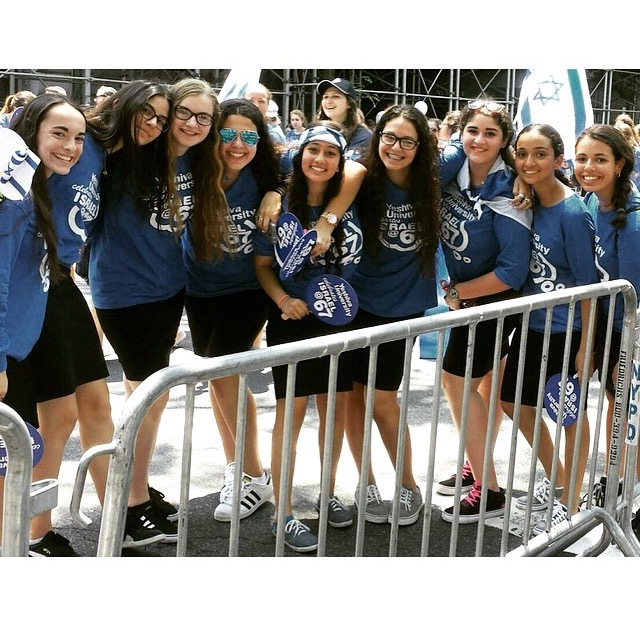 YU HS for Girls Israel Parade