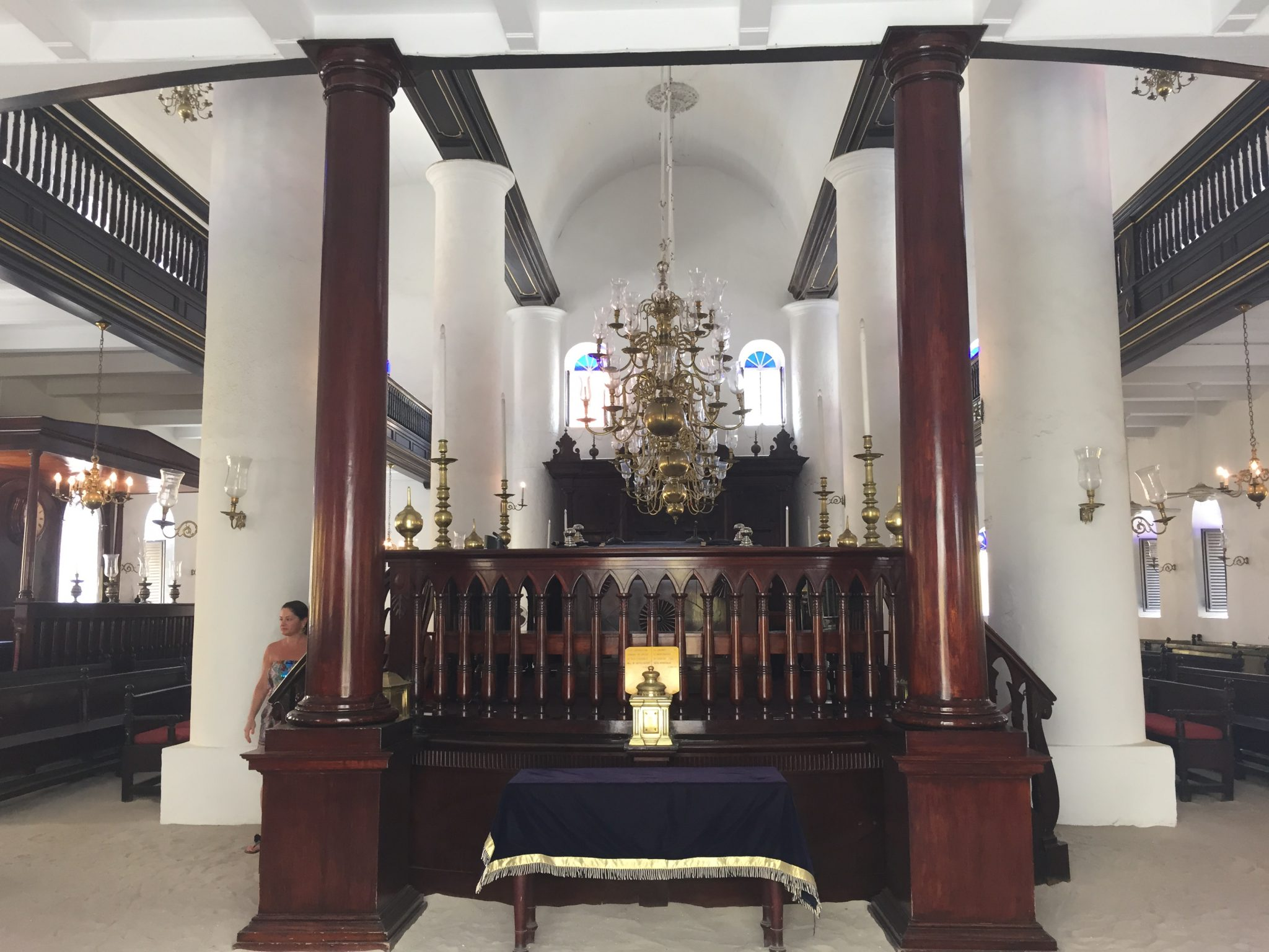 The oldest Shul in the Western Hemisphere in Curaçao!