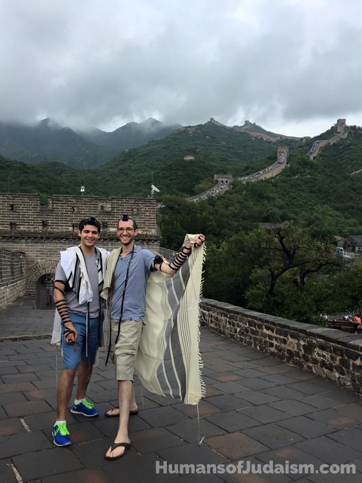 great-wall-of-china-telfie-humansofjudaism-com