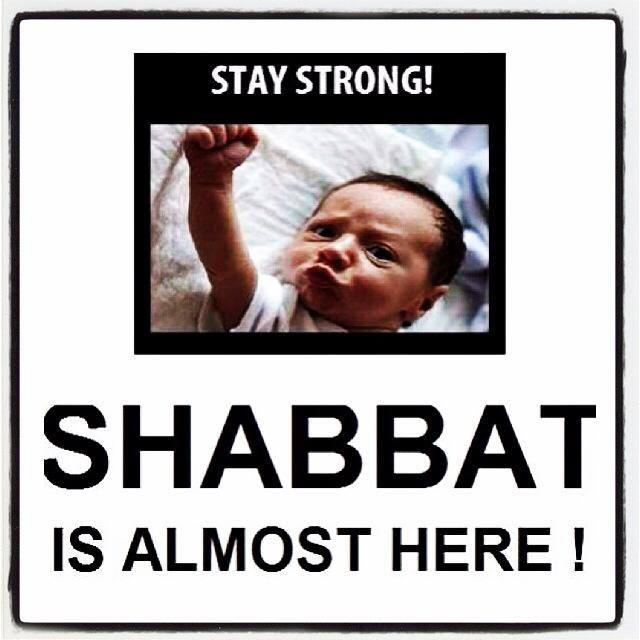Stay Strong Shabbat Shalom