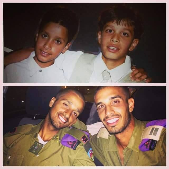 IDF Brothers then and now