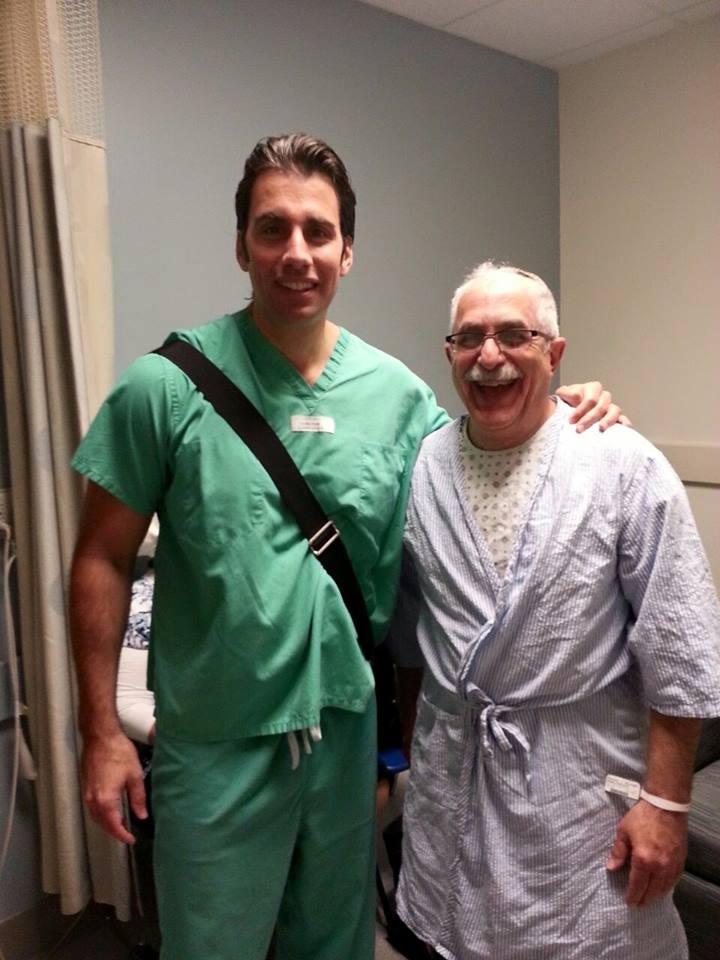 Stuart and Dr Delpizzo